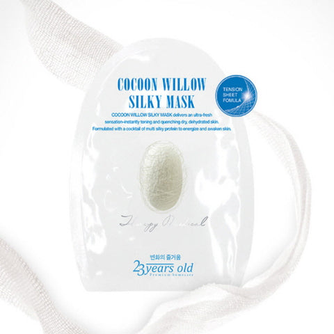 Picture of 23 Years Old Cocoon Willow Silky Mask