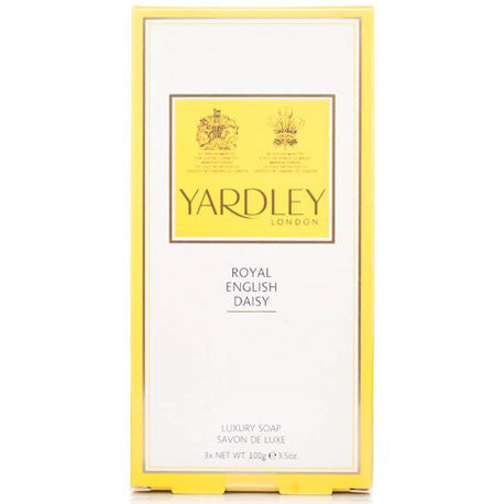 Picture of Yardley London Royal English Daisy Soaps 3x100g