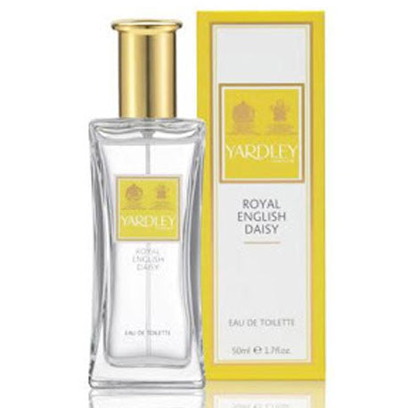 Picture of Yardley London Royal English Daisy Eau de Toilette 50ml Natural Spray