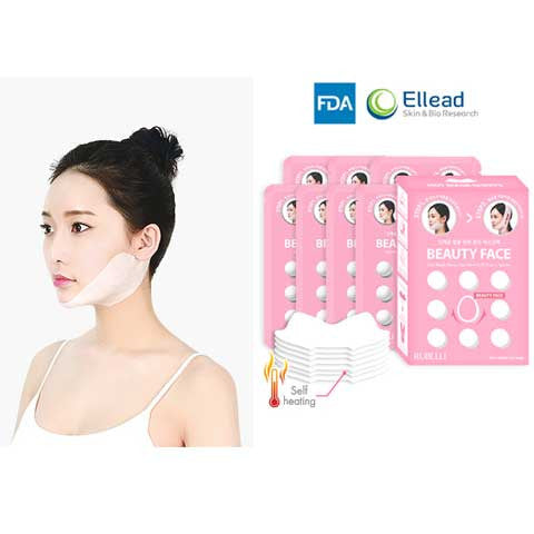 Picture of Rubelli Beauty Face Chinup Mask [Hot Mask Sheets 7 Packs + Facial Band 1 EA]