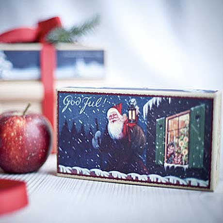 Picture of Victoria - God Jul Christmas Soap Santa 2 x 140g