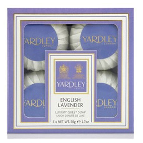 Picture of Yardley London English Lavender Guest Soaps 4x50g