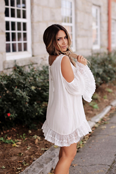 Willow Ivory Lace Dress