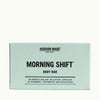 Hudson Made Morning Shift Energizing and Uplifting Body Bar of Rosemary, Peppermint, and Eucalyptus