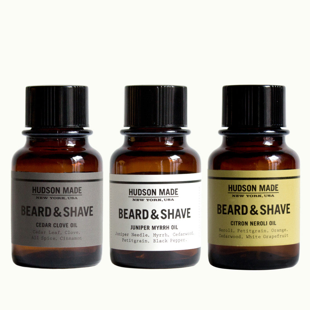Beard & Shave Oil Trio
