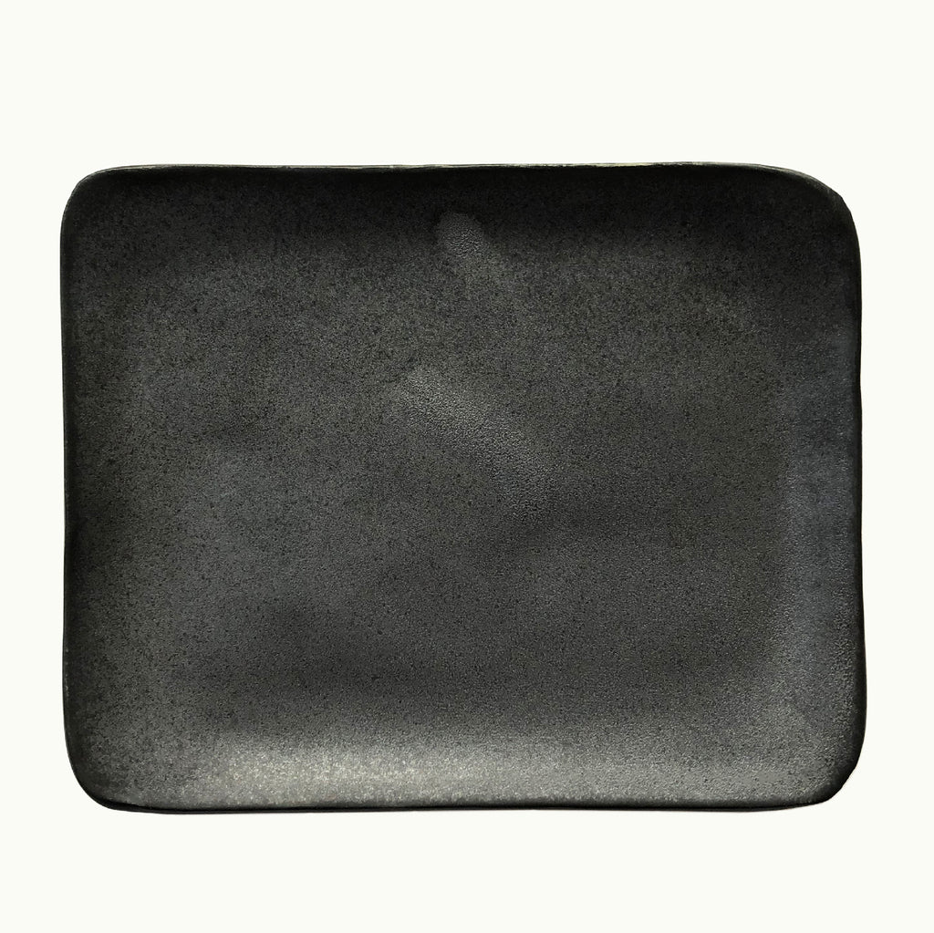 Hudson Made Black Ceramic Dish