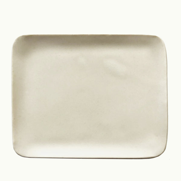 Hudson Made White Ceramic Soap Dish