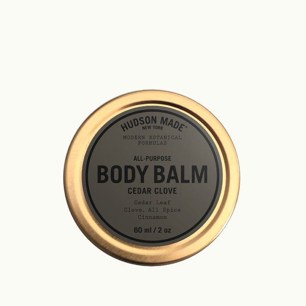 Hudson Made All-Purpose Body Balm with  Cedar, Clove, All Spice, Cinnamon. Modern Botanical Formulas.