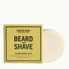 Hudson Made Citron Neroli Beard and Shave Soap with Grapefruit and Cedarwood to help refresh a dull complexion.