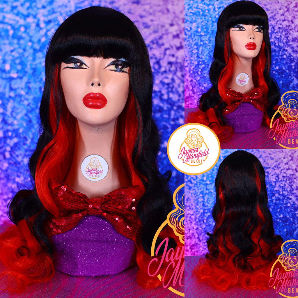 BEWITCHING BETTY ( HARD FRONT WIG)