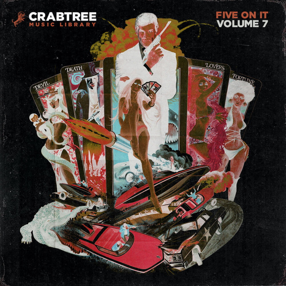 Crabtree Music Library - Five On It Vol. 7