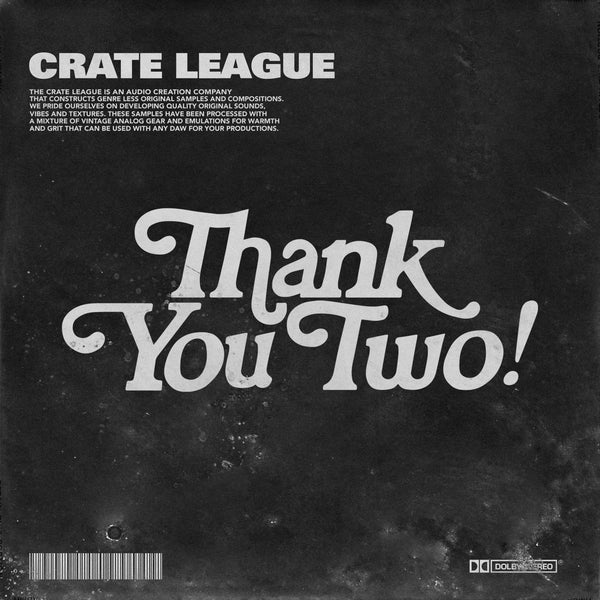 The Crate League - Thank You Vol. 2 (Sample Pack)