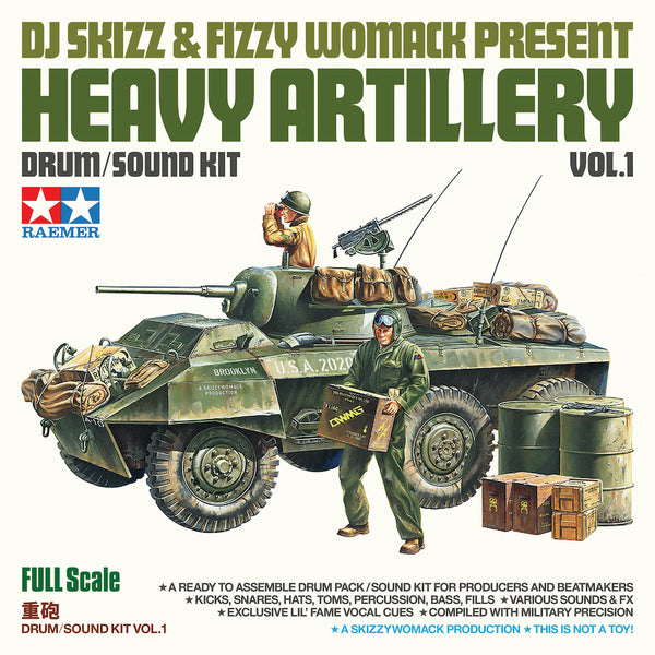 DJ Skizz & Fizzy Womack - Heavy Artillery Vol. 1