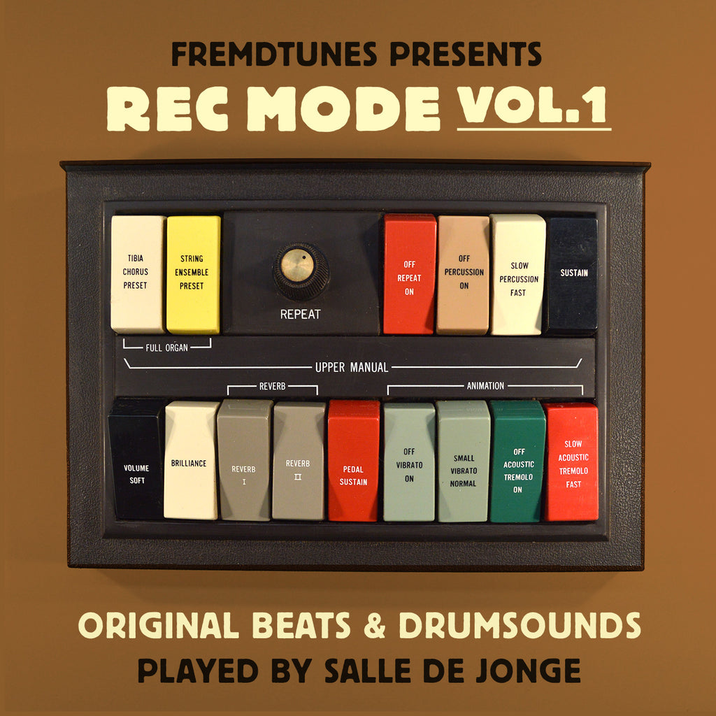 Rec Mode Vol.1 - Original Breaks and Drum Sounds (Digital Download)