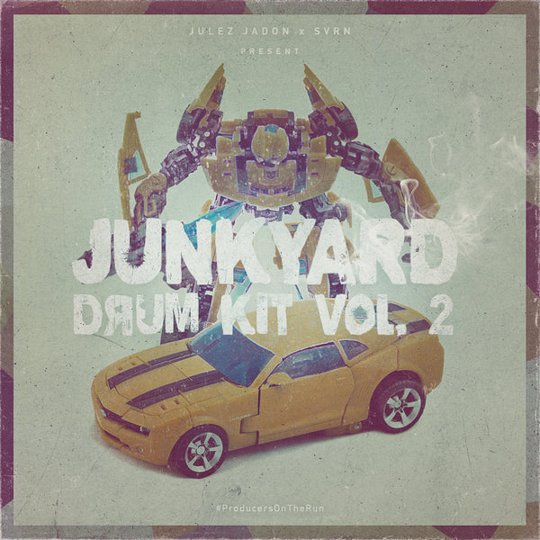 Julez Jadon - Junkyard Drum Kit Vol. 2