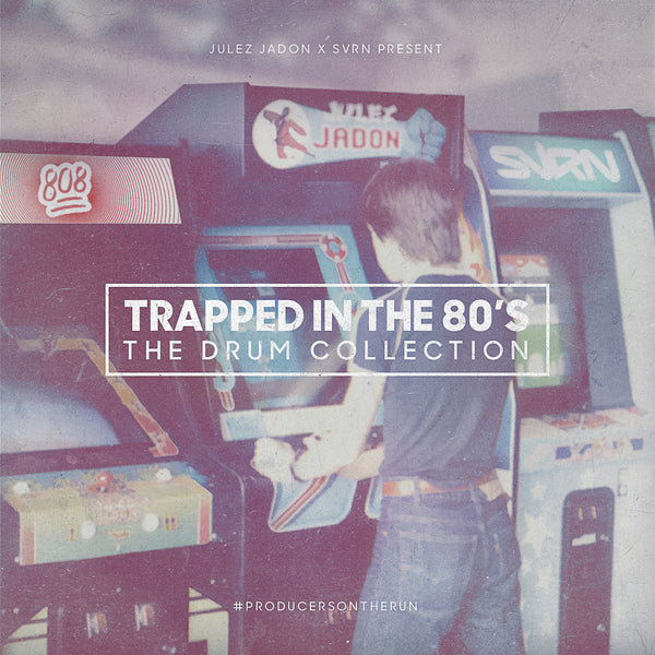 Julez Jadon - Trapped in the 80's: The Drum Collection