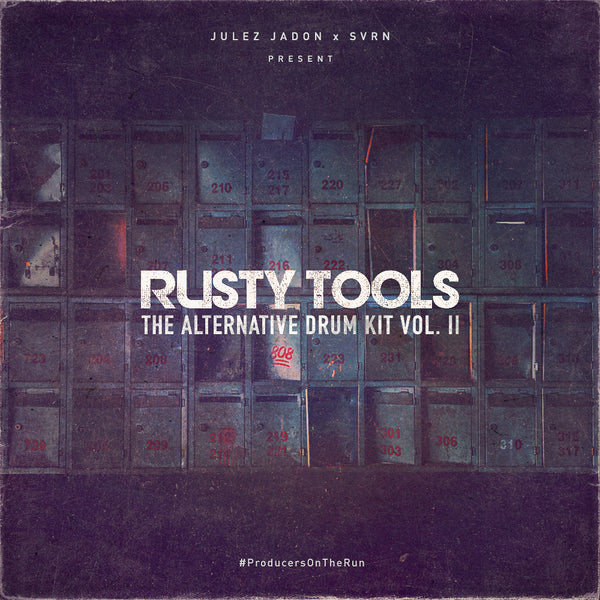 Julez Jadon - Rusty Tools: The Alternative Drum Kit Vol. 2