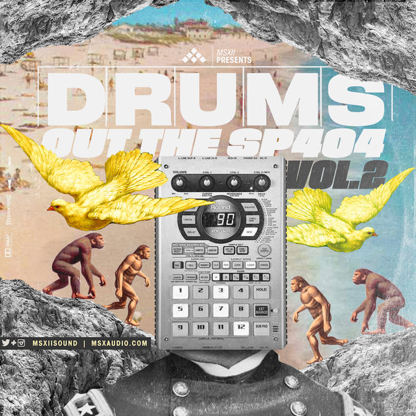 MSXII Sound Design - Drums Out The SP404 Vol. 2