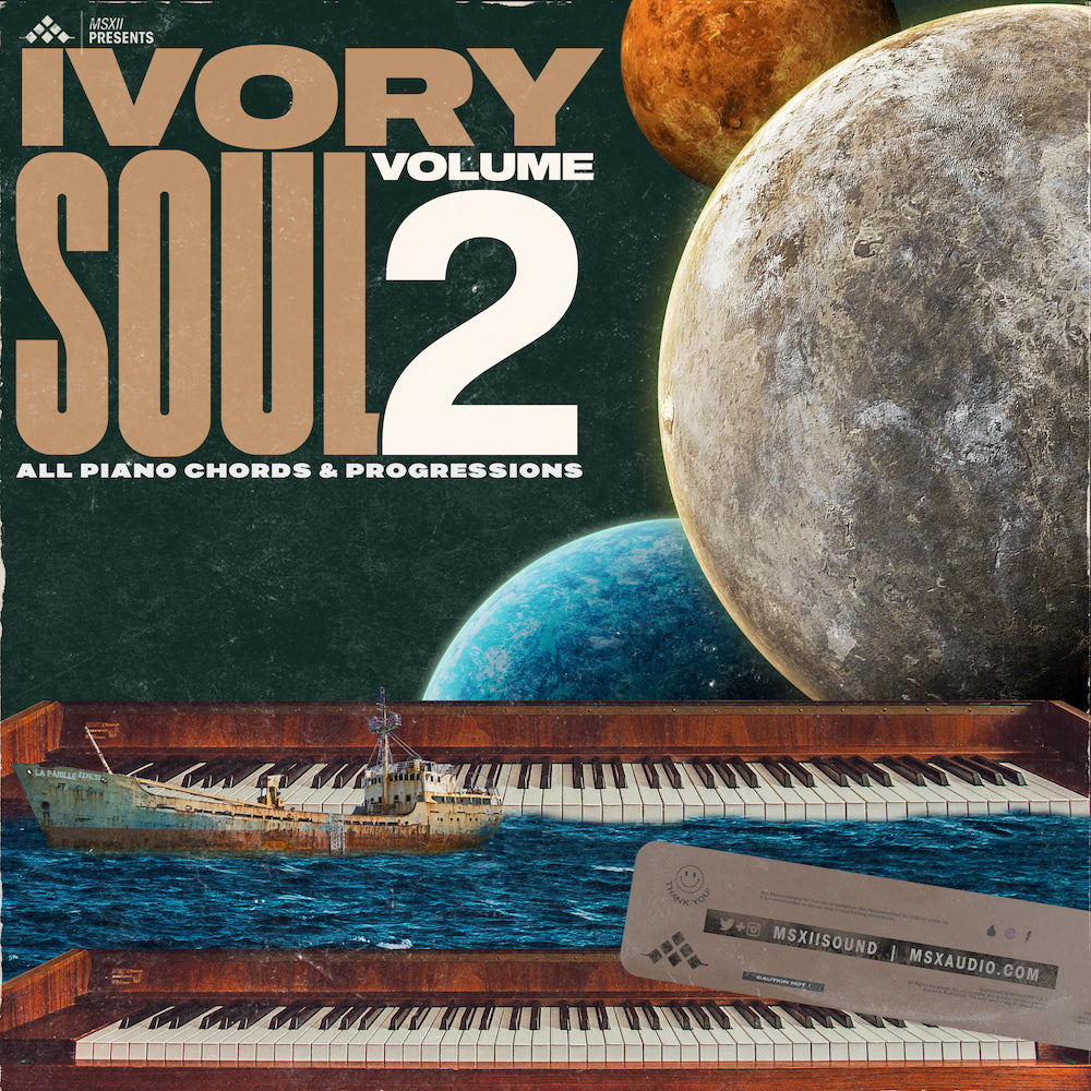 MSXII Sound Design - Ivory Soul Vol. 2 - All Piano Chords & Progressions