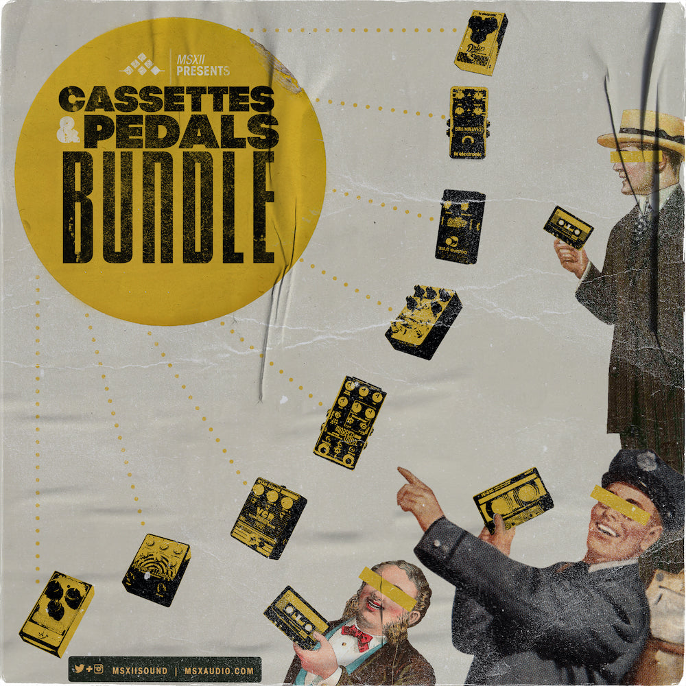 MSXII Sound Design - Cassettes & Pedals Bundle