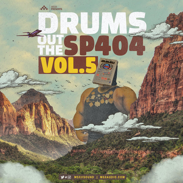 MSXII Sound Design - Drums Out The SP404 Vol. 5