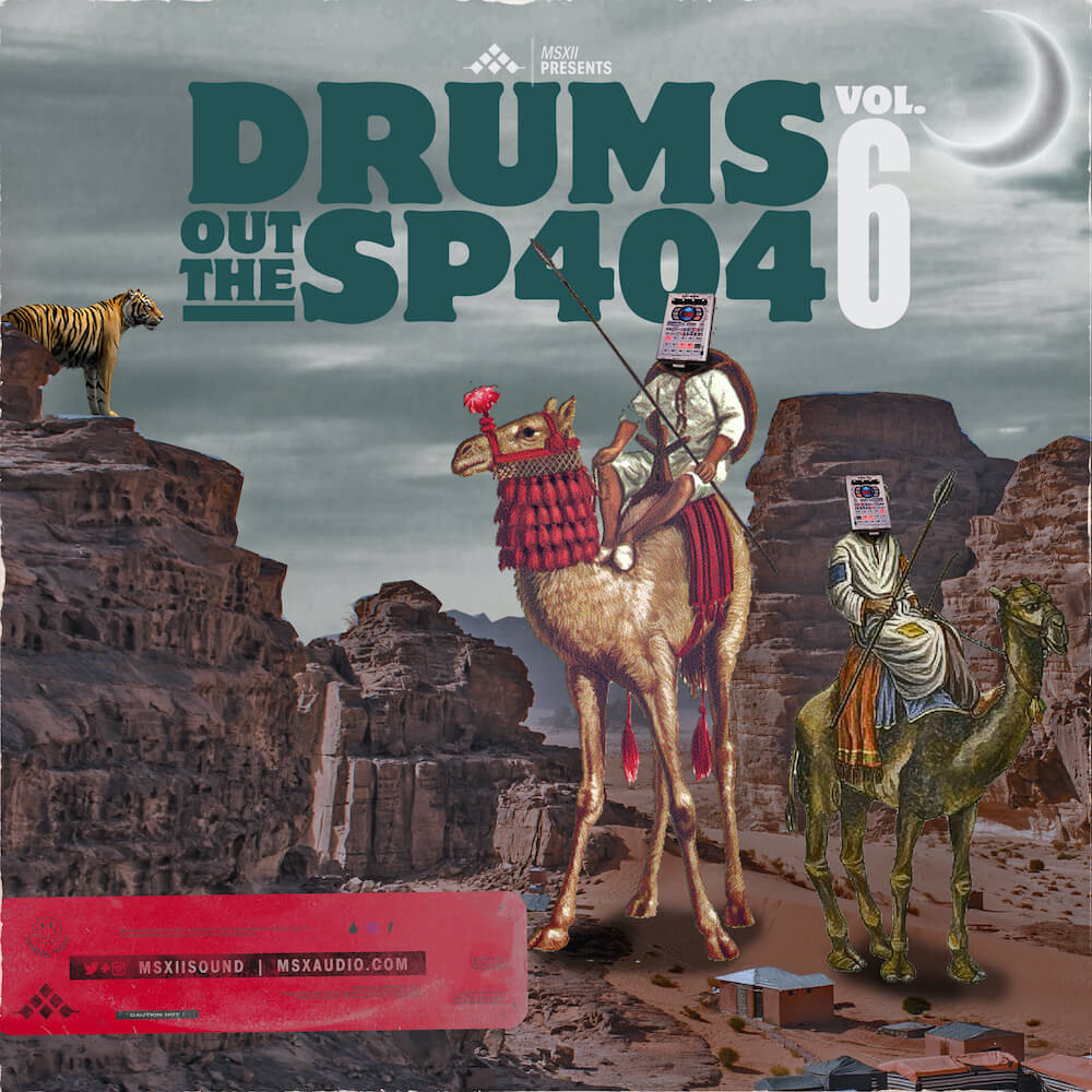 MSXII Sound Design - Drums Out The SP404 Vol. 6