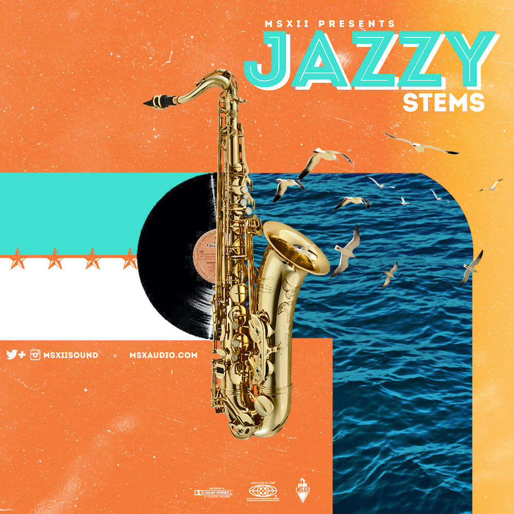 MSXII Sound Design - Jazzy Stems Vol. 1