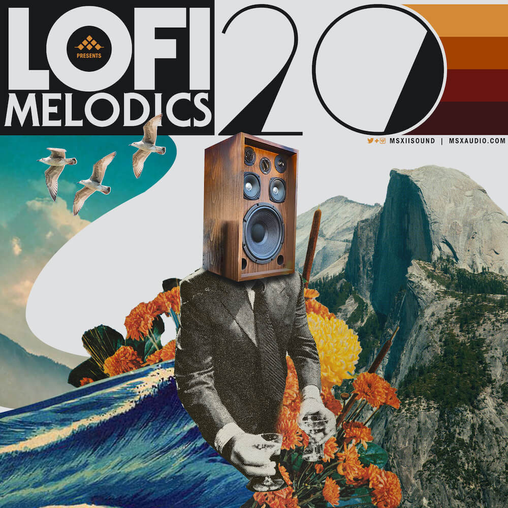 MSXII Sound Design - LoFi Melodics Vol. 20
