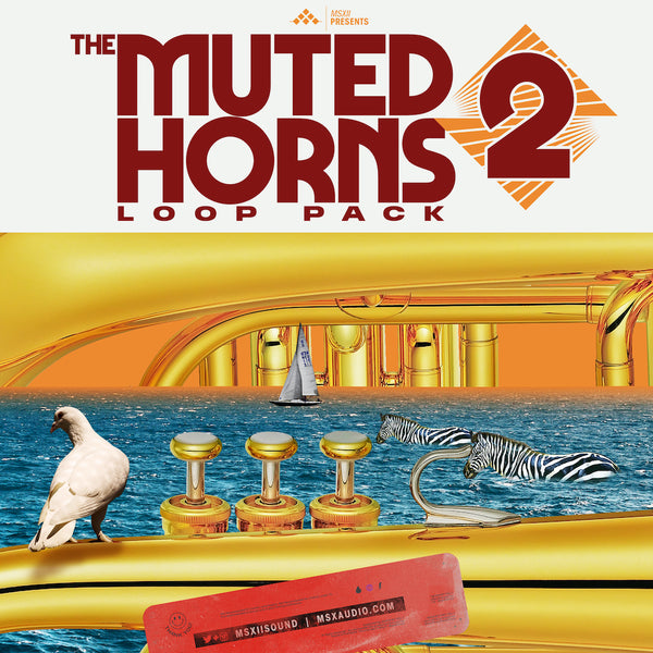 MSXII Sound Design - Muted Horns Loop Pack Vol. 2