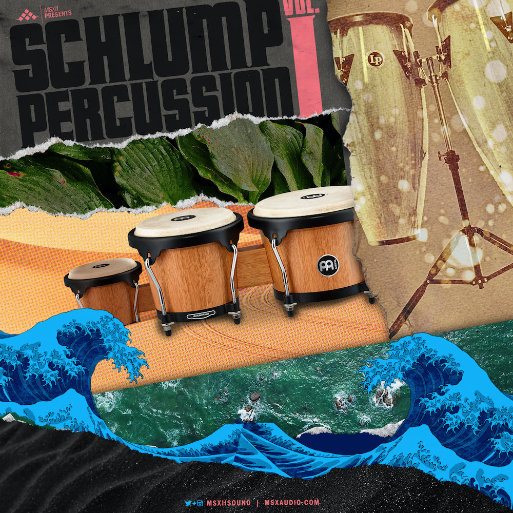 MSXII Sound Design - Schlump Percussion Vol. 1