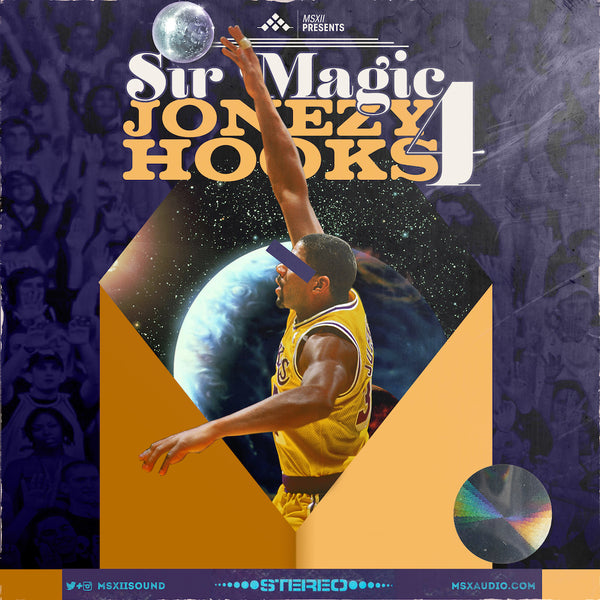 MSXII Sound Design - Sir Magic Jonezy Hooks Vol. 4