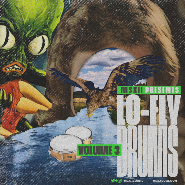 MSXII Sound Design Presents - Lo-Fly Drums Vol. 3