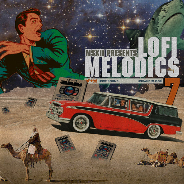 MSXII Sound Design - LoFi Melodics Vol. 7 (Sample Pack)