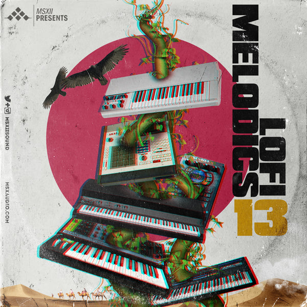 MSXII Sound Design - LoFi Melodics Vol. 13 (Sample Pack)