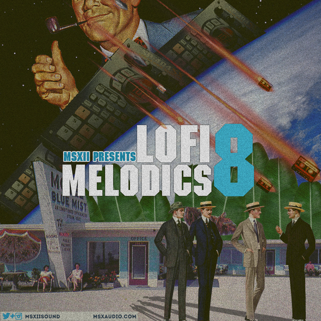 MSXII Sound Design - LoFi Melodics Vol. 8