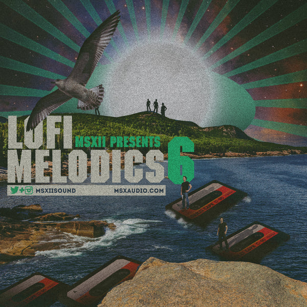 MSXII Sound Design - LoFi Melodics Vol. 6 (Sample Pack)