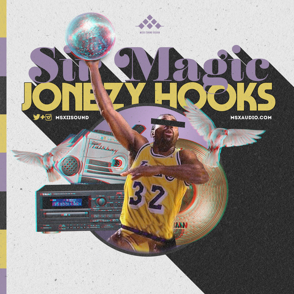 MSXII Sound Design - Sir Magic Jonezy Hooks Vocal Sample Pack