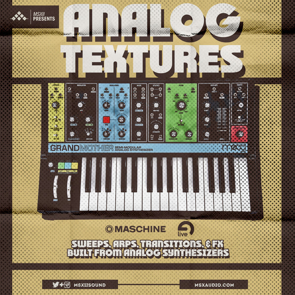 MSXII Sound Design - Analog Textures: The Sweeps, Arps, and Transition FX