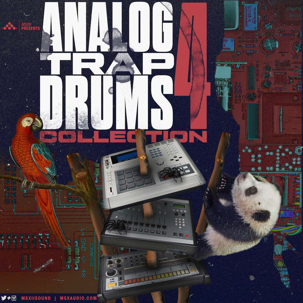 MSXII Sound Design - Trap Drums Bundle