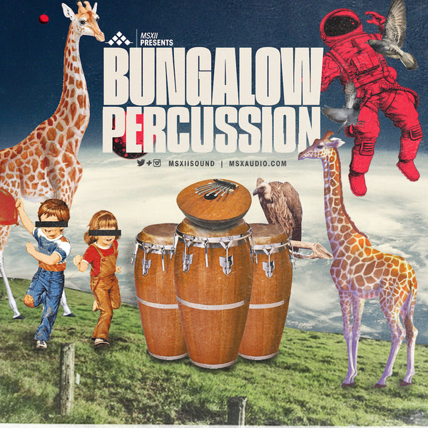 MSXII Sound Design - Bungalow Percussion Vol. 1