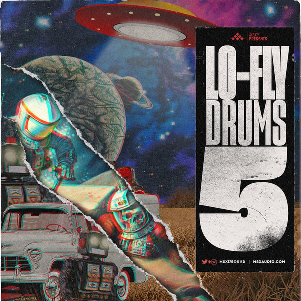 MSXII Sound Design - Lo-Fly Drums Vol. 5