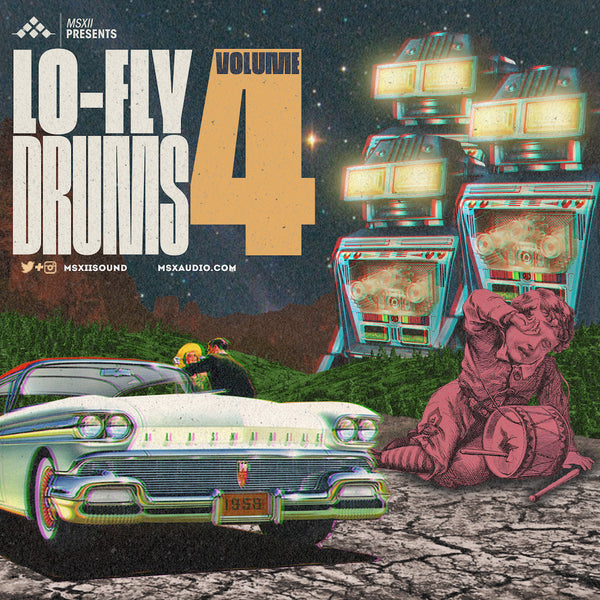 MSXII Sound Design Presents - Lo-Fly Drums Vol. 4