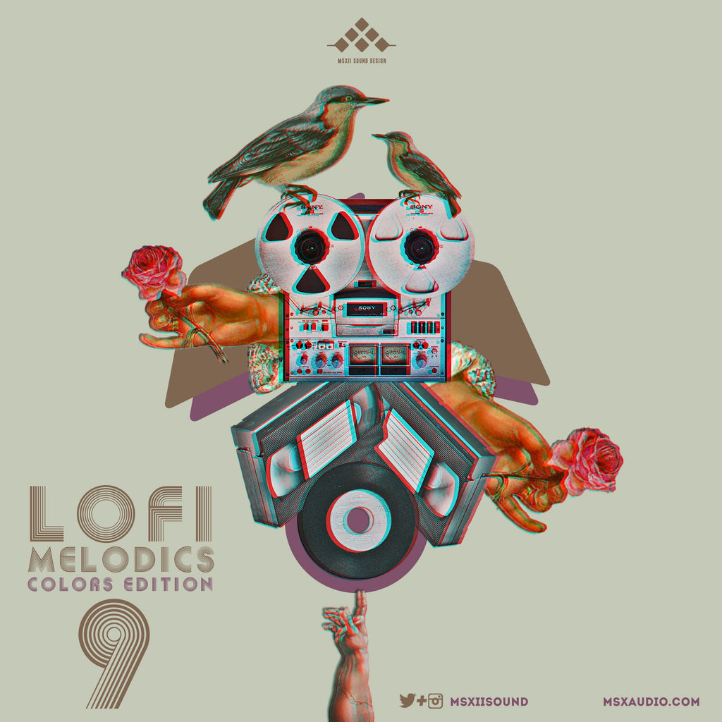 MSXII Sound Design - LoFi Melodics Vol. 9