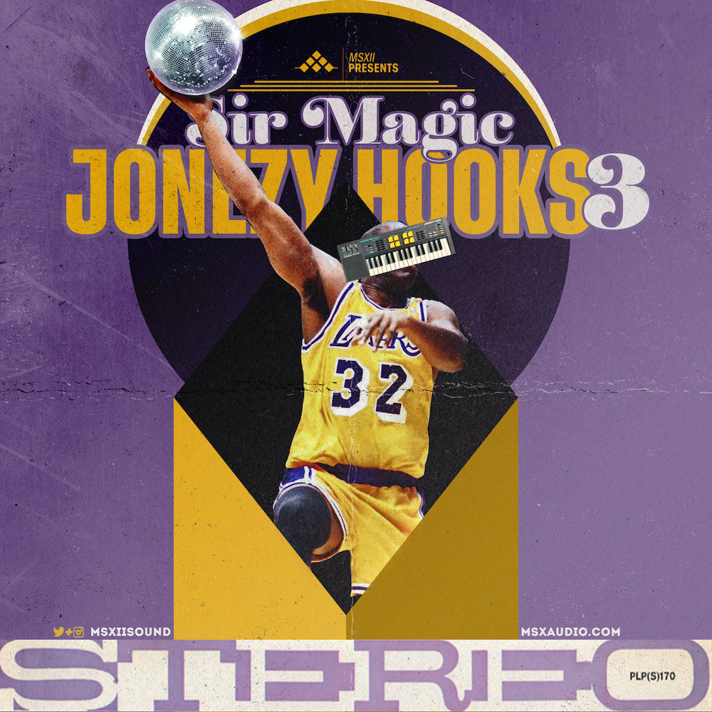 MSXII Sound Design - Sir Magic Jonezy Hooks Vol. 3 Vocal Sample Pack