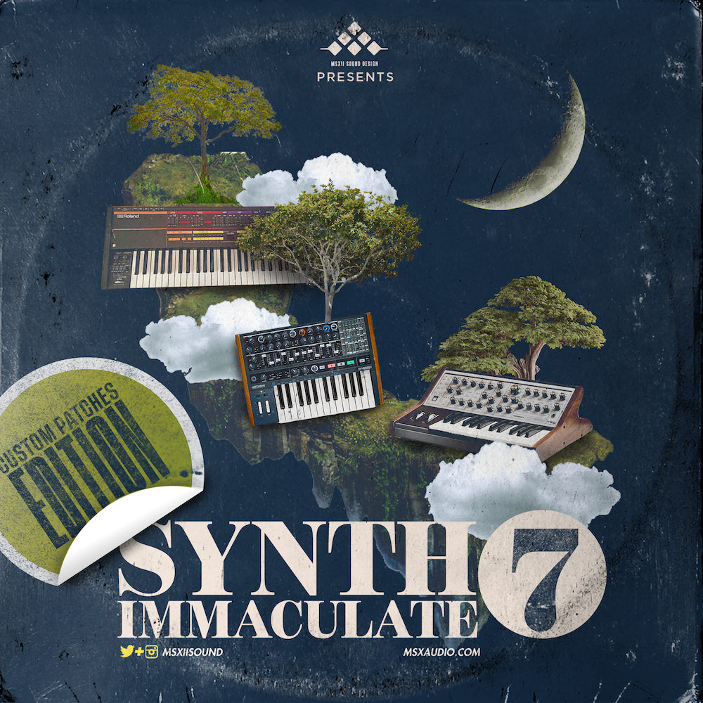 MSXII Sound Design - Synth Immaculate Vol. 7