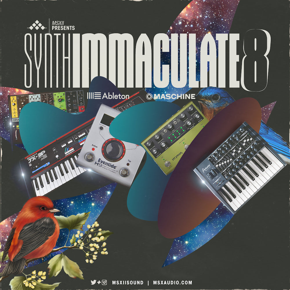 MSXII Sound Design - Synth Immaculate Vol. 8