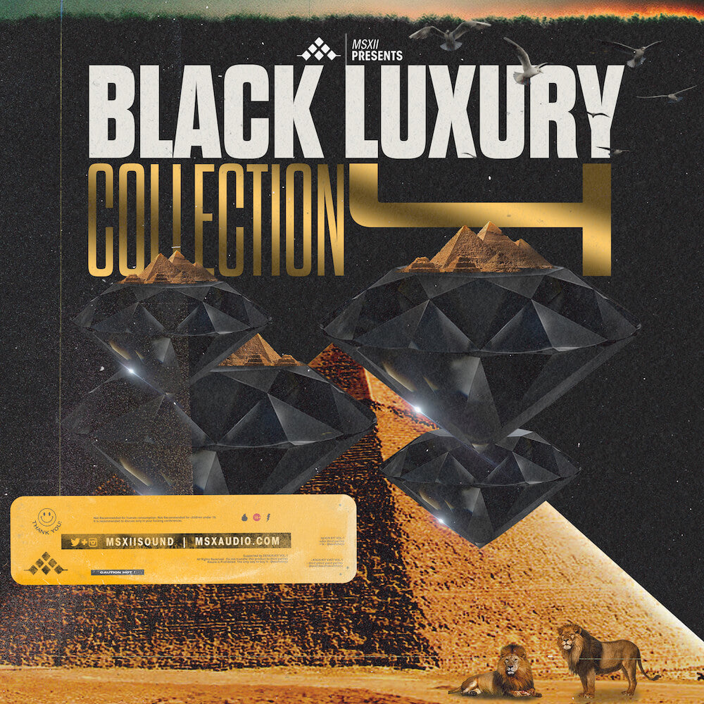 MSXII Sound Design - The Black Luxury Collection IV