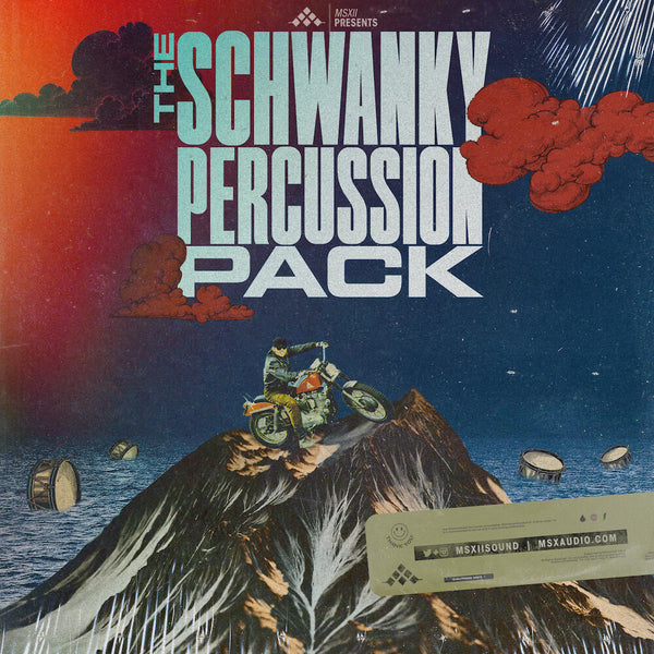 MSXII Sound Design - Schwanky Percussion Sample Pack