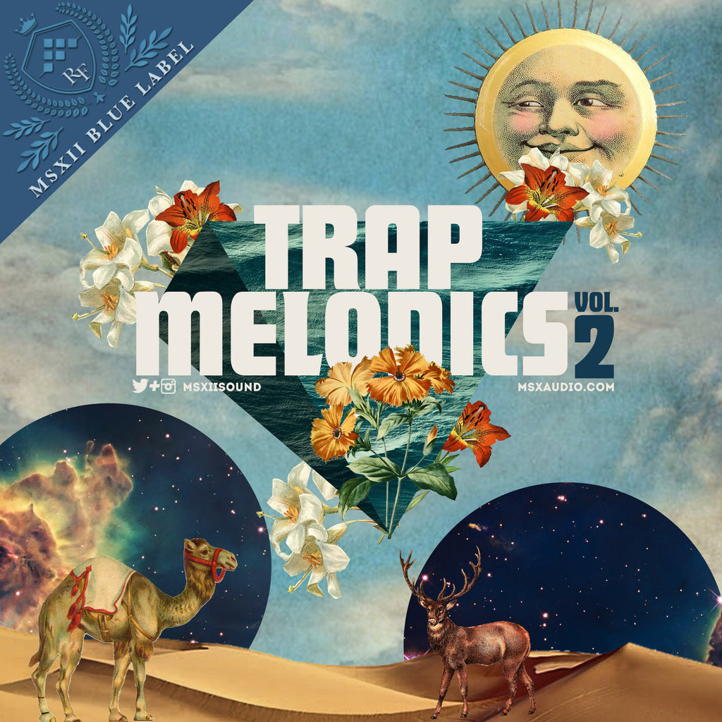 MSXII Sound Design - Trap Melodics Vol. 2