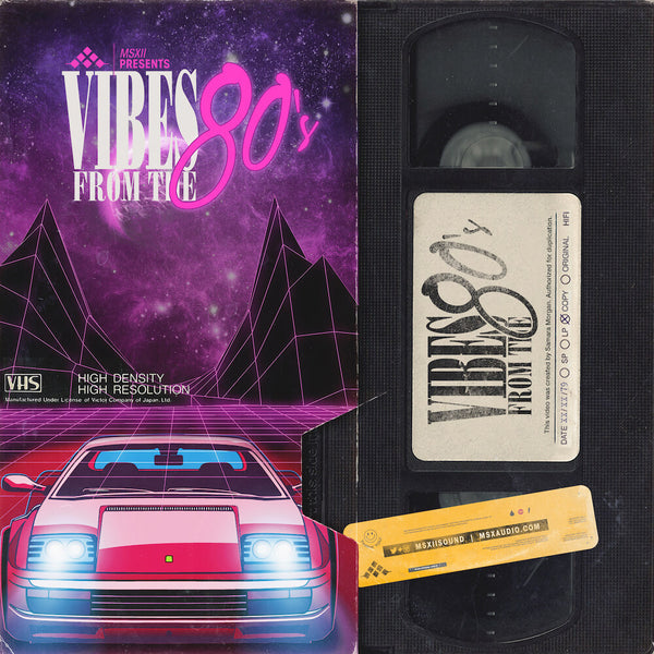 MSXII Sound Design - Vibes From The 80s Vol. 2